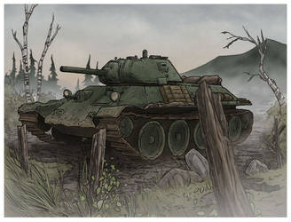 T-34 by DC-Miller