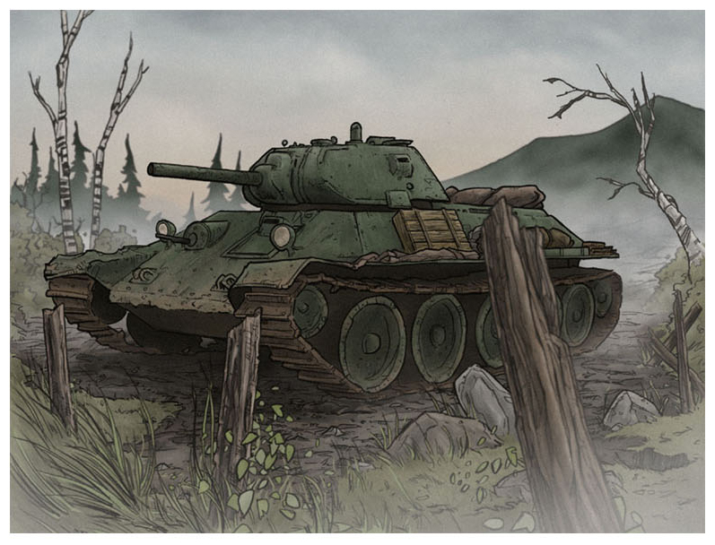 T-34 by jimmymcwicked