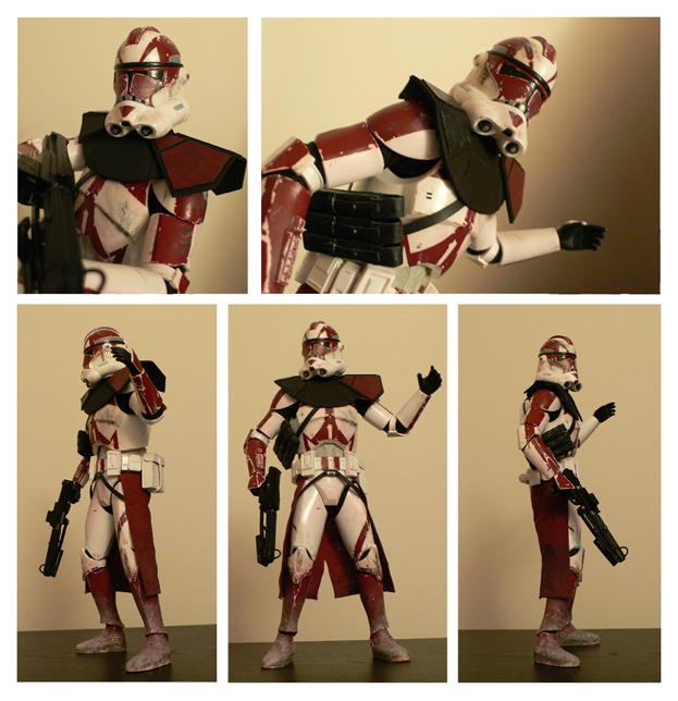 medicom 303rd clone trooper by jimmymcwicked
