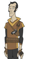 mercenary pilot by DC-Miller