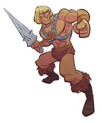 He-Man by DC-Miller