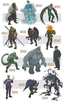 awesome spiderman villains III