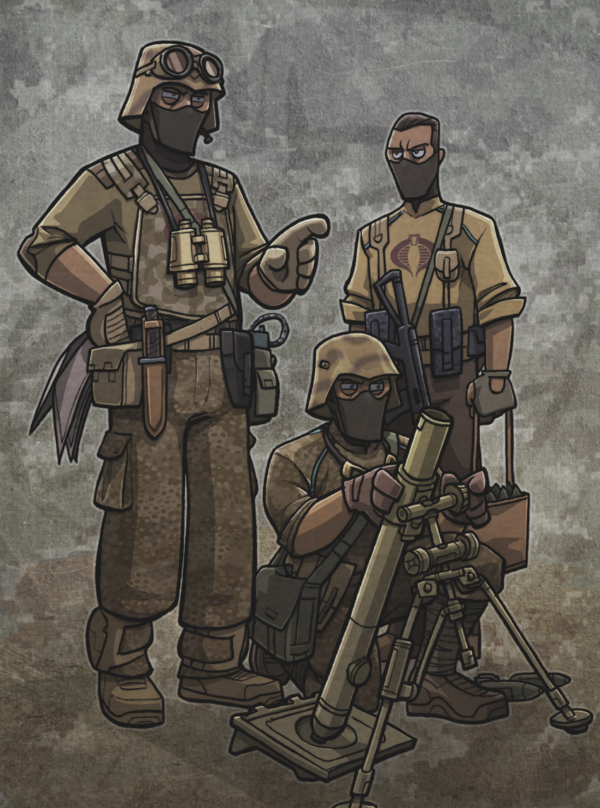 Cobra mortar team by jimmymcwicked