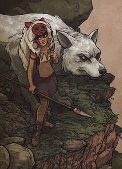 the Wolf Girl - pesky demon