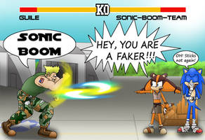 Sonic Boom, what else!