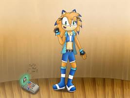 Zoe 'Zoom' the Hedgehog