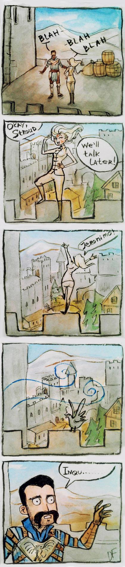 Jump of Faith by DancinFox