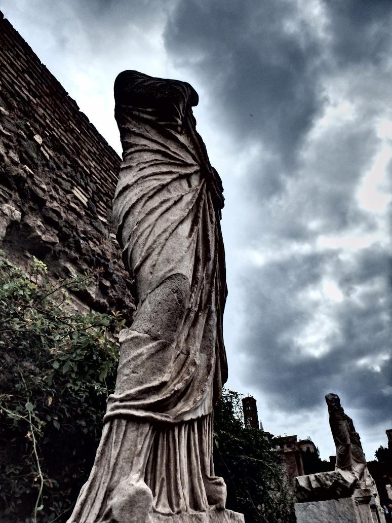 Temple of the Vestal Virgins by kristyk3313