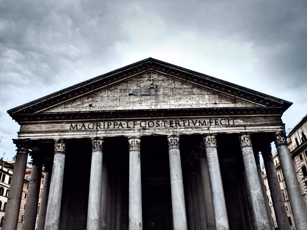 The Pantheon by kristyk3313