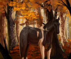 Autumn Forest by Summer-Lynx