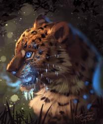 Ice leopard by Summer-Lynx