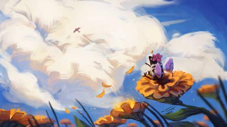 Look A Plane! by Summer-Lynx