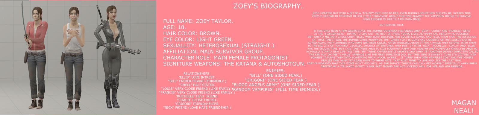 (BLOOD ANGELS) BIOGRAPHY'S, ZOEY'S BIOGRAPHY.