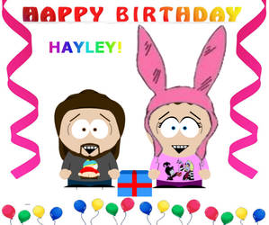 HAYLEY'S BIRTHDAY GIFT/SURPRISE.