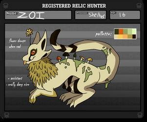 !~ Relic Hunter Registration ~! by Zeckmin