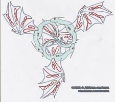 Triskillian Dragons Color by shiari