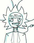 Rickmau5(quick drawing) by BassBunni