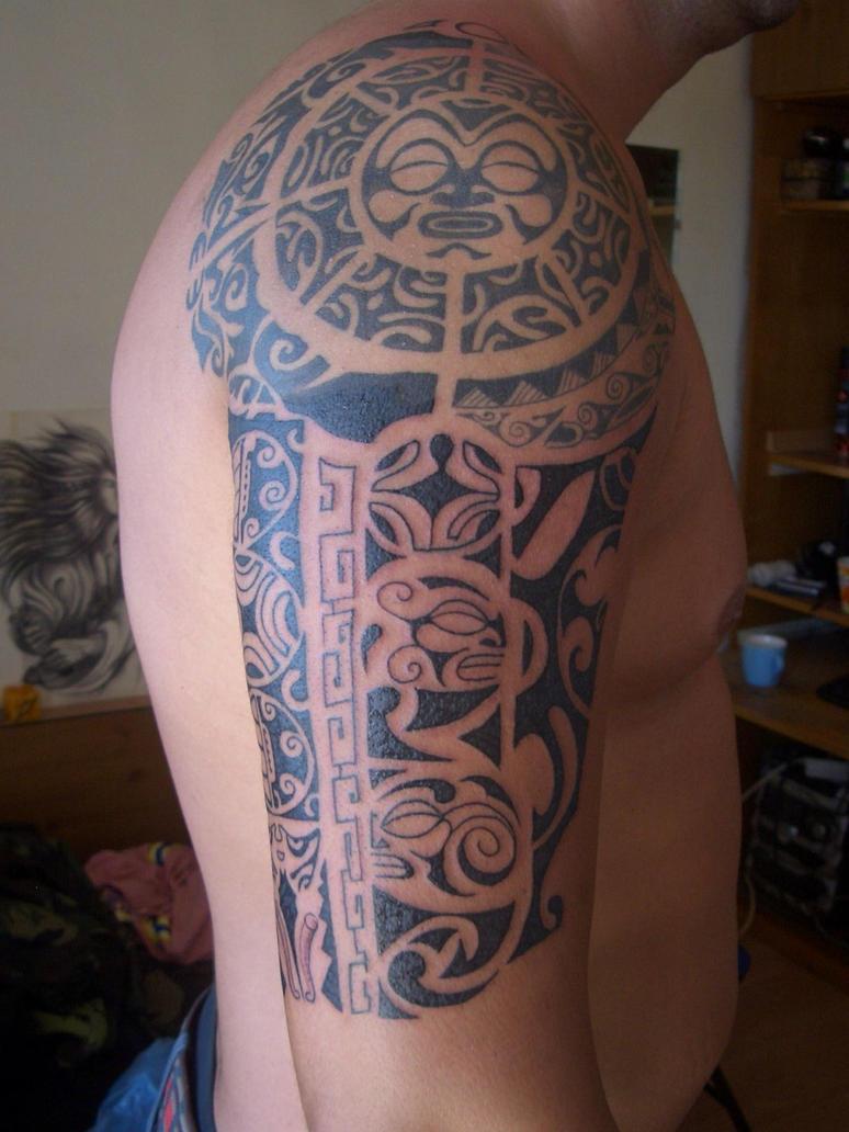 maori arm tatoo by zombthc on deviantart. Black Bedroom Furniture Sets. Home Design Ideas