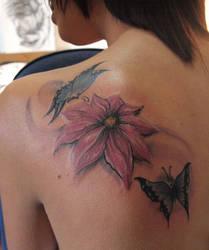 flower tattoo 54551