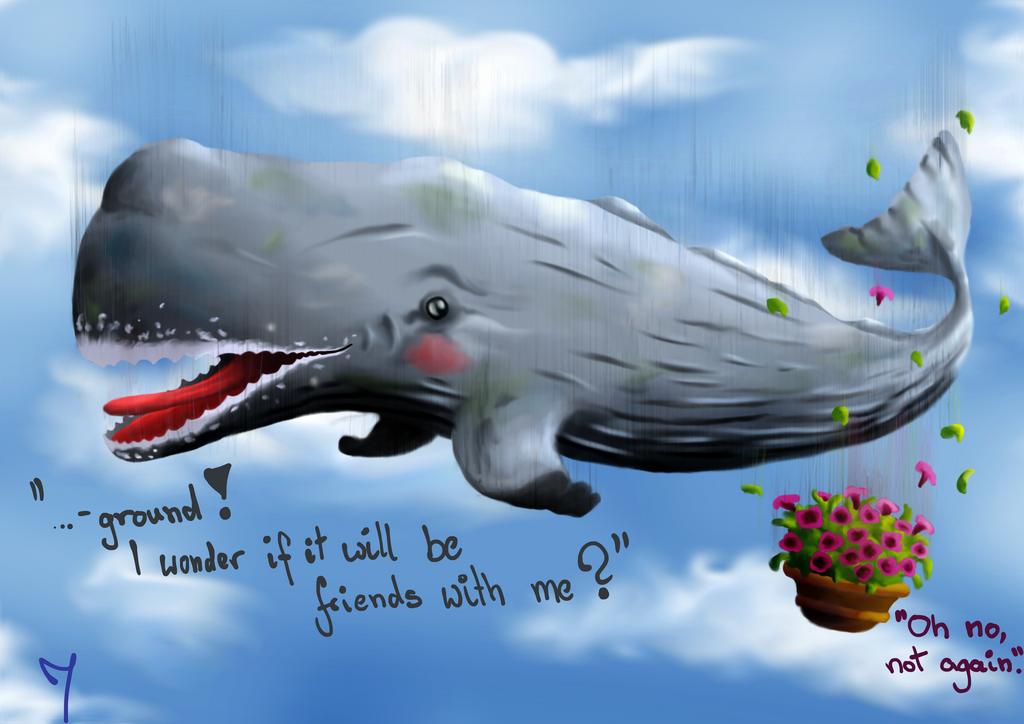 sperm whale petunias