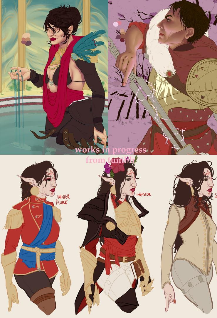 progress pics by 1arty-ninja