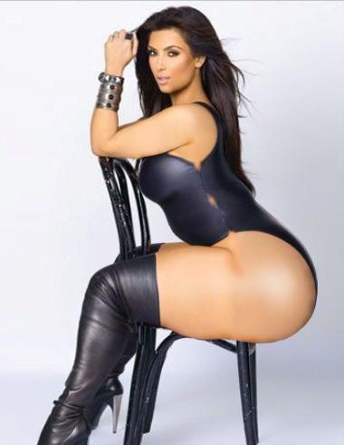 Kim Kardashian Big Booty Porn