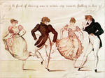 To be fond of dancing...