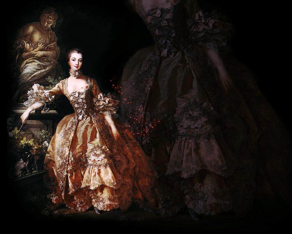 Madame de Pompadour : rose by olde-fashioned