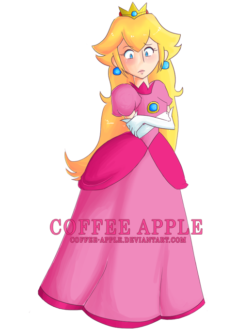 Princess Peach Collab Challenge by Coffee-Apple