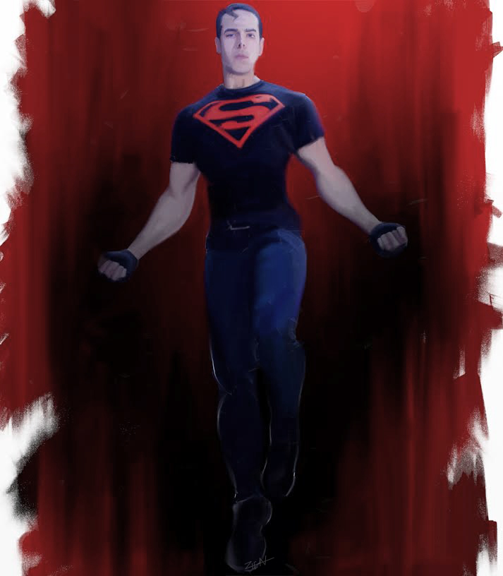 superboy by 0615110
