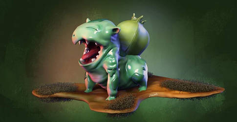 bulbasaur by 0615110