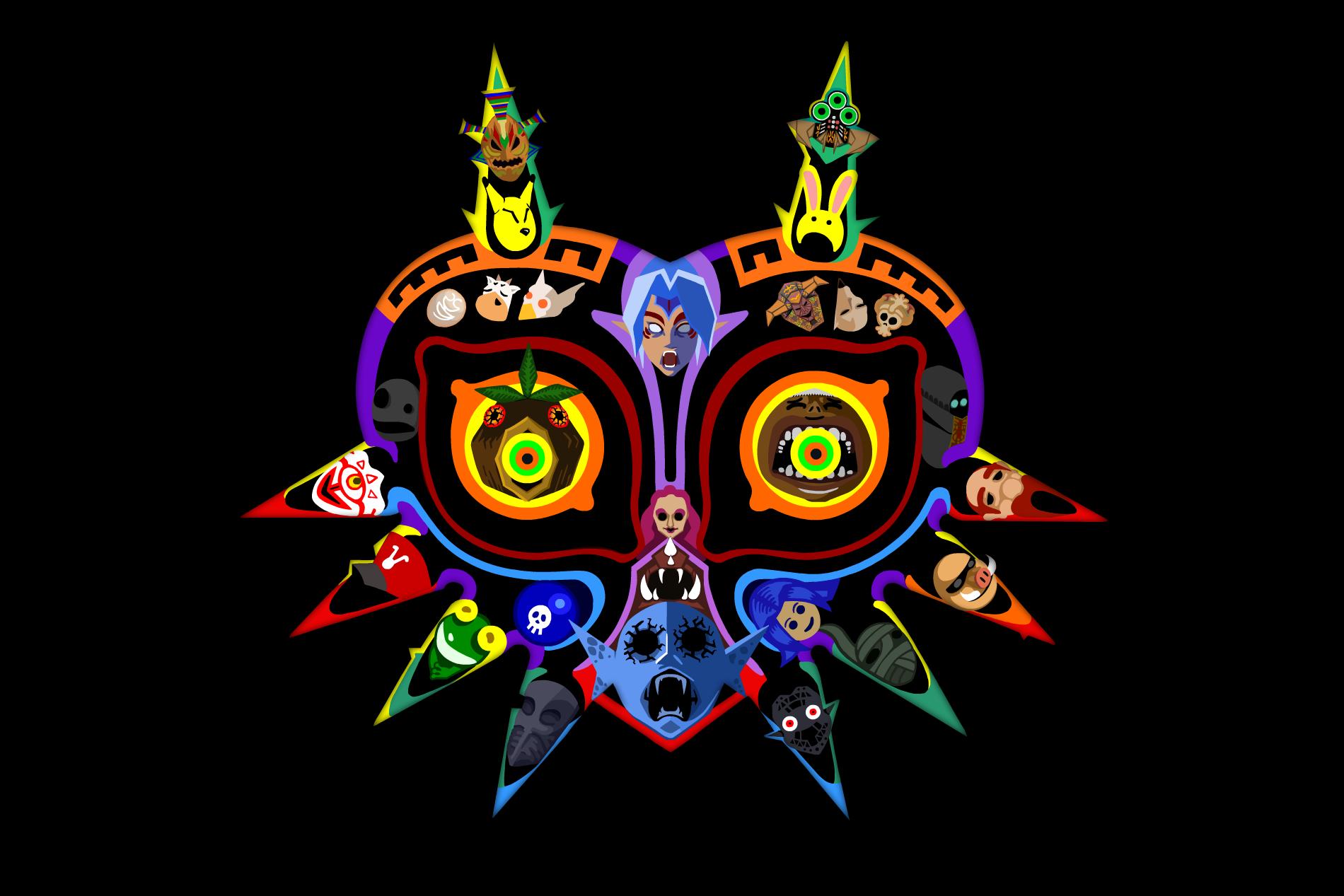 Majora's Mask by Octomantis