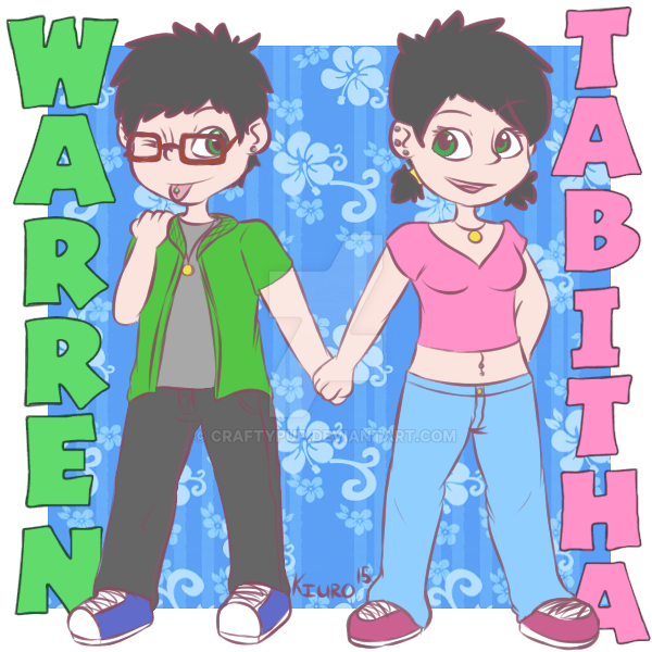 Warren and Tabitha by CraftyPup