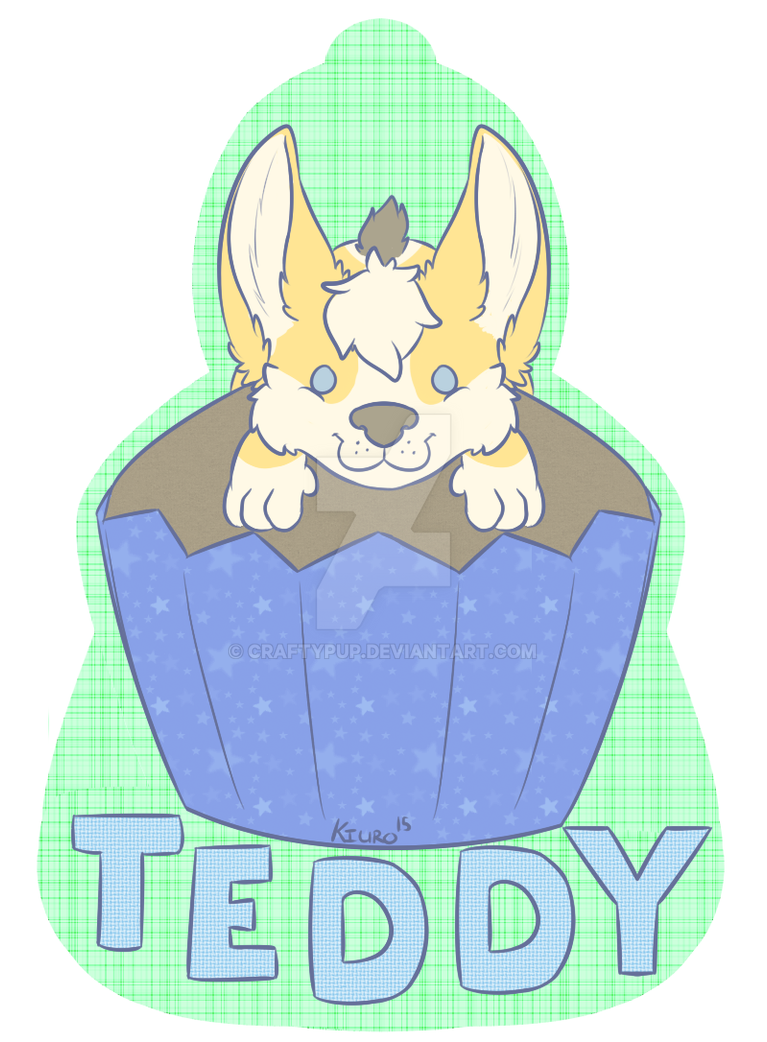 Theodore - Pupcake by CraftyPup