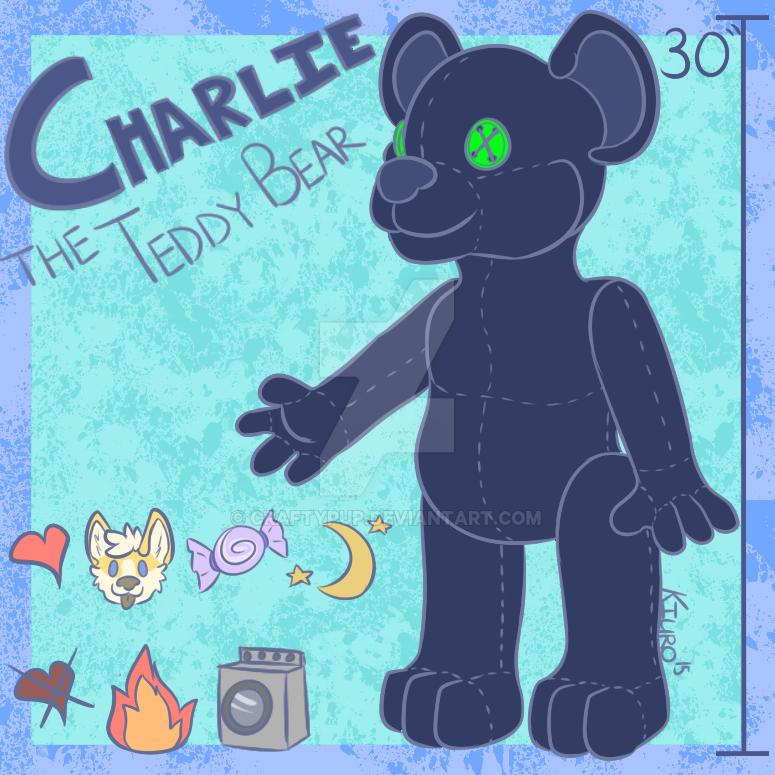 Charlie the Teddy Bear by CraftyPup