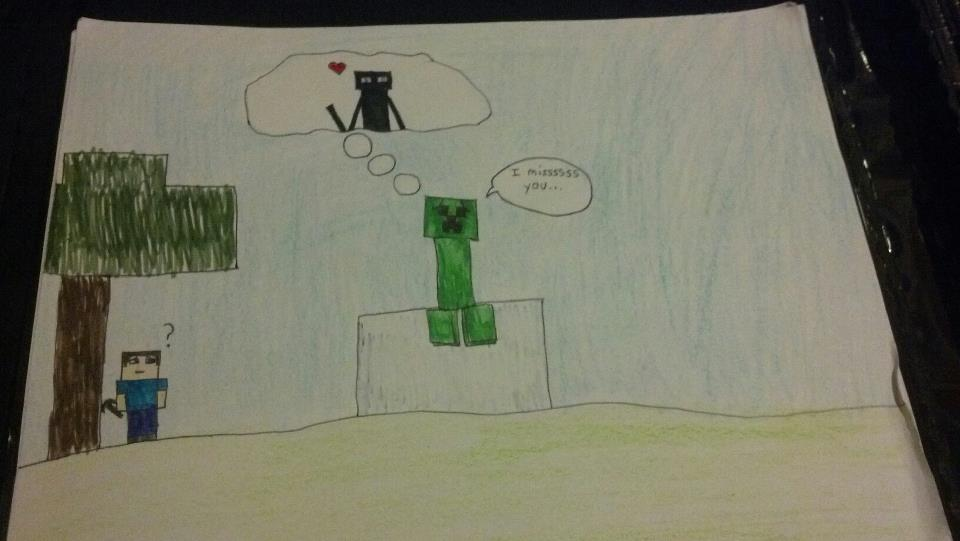 gamemakertech info images enderman and creeper love