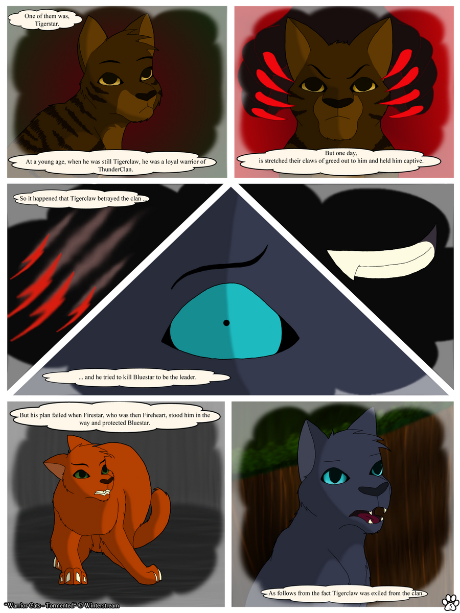 Warrior Cats: Tormented - Page 5 by Winterstream on DeviantArt