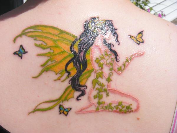 Kira the Faerie Tattoo - dragonfly tattoo
