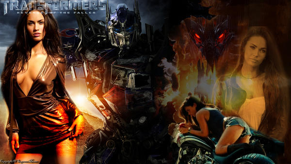 Transformers 2 Megan Fox Changing