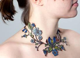 Kaszuby neckpiece by Maresy