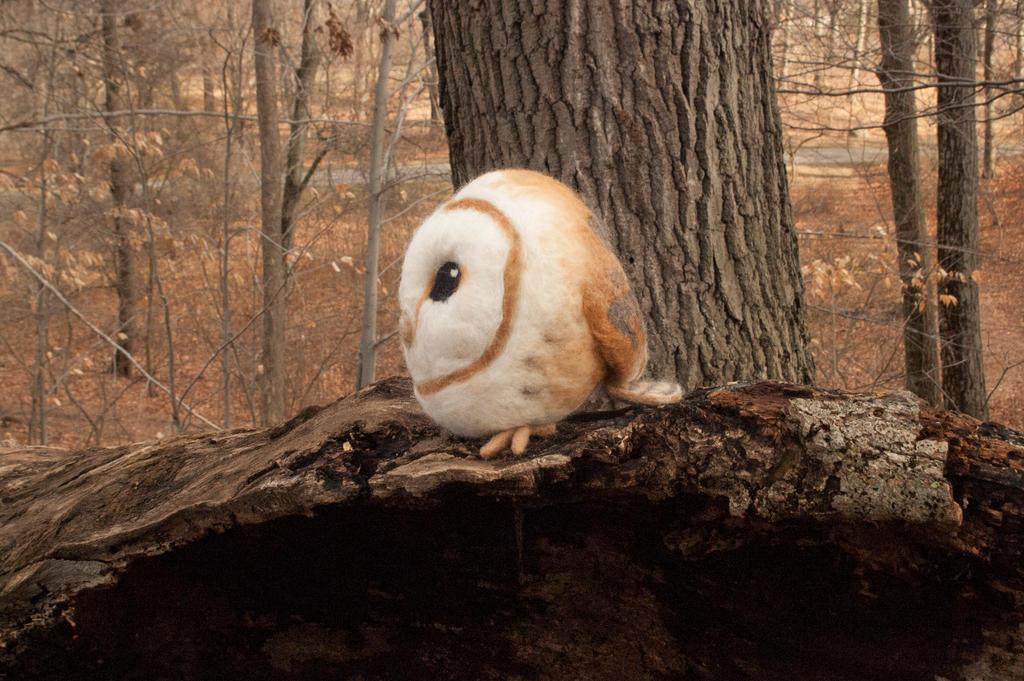 Barn Owl Ball by Maresy