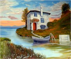 Stone House by sabb-art