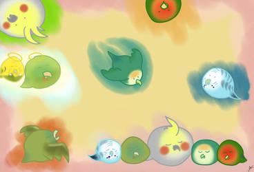 My flock by xXxelyxXx