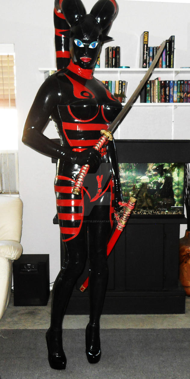 Again, not a light saber but I bet it still smarts by LatexKittie