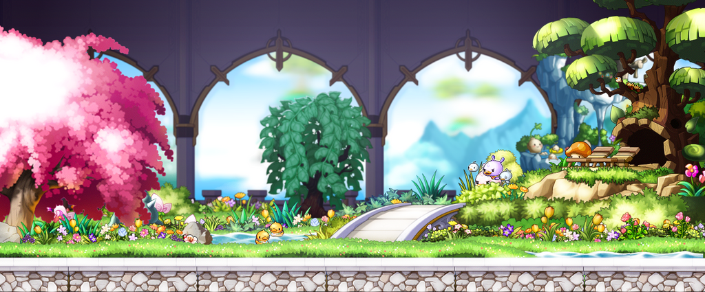 Maplestory Bedroom Background