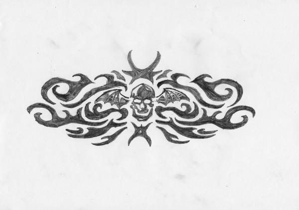 avenged sevenfold tattoo by cj marshall on deviantart. Black Bedroom Furniture Sets. Home Design Ideas