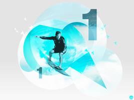Number One Surfer by Vantaj
