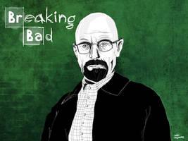 Breaking Bad Illustrating Walt by Vantaj