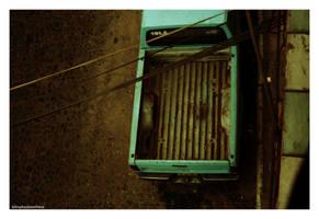 a truck in puerto vallarta by kilroyhasbeenhere