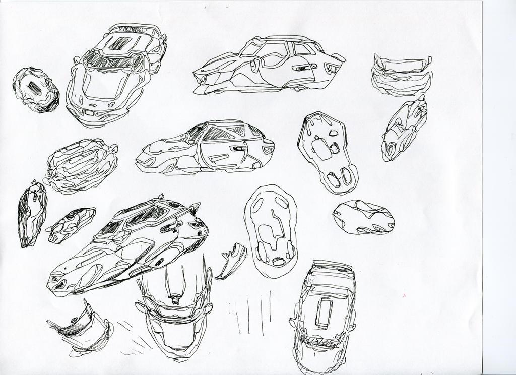 Car Designs by graffittifunk
